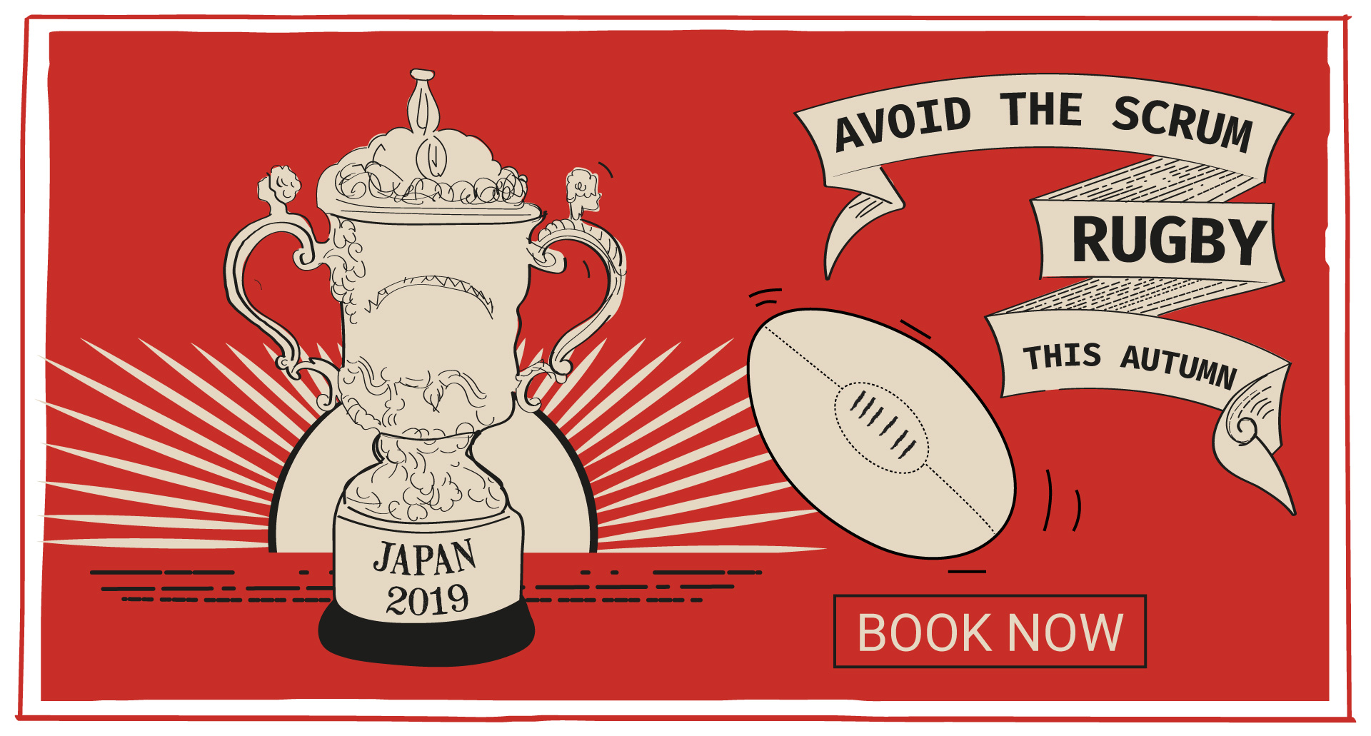Rugby World Cup at The Lyttelton Arms