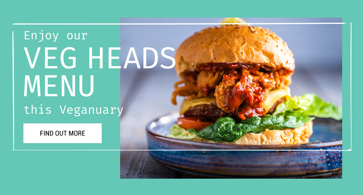Veg Heads this Veganuary at The Lyttelton Arms